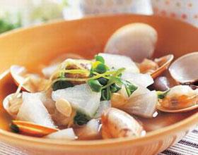 海鲜蛤蜊汤